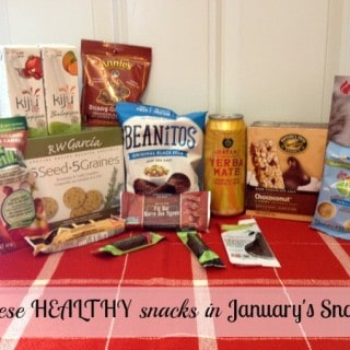 Snack Healthy with the January Snackbox