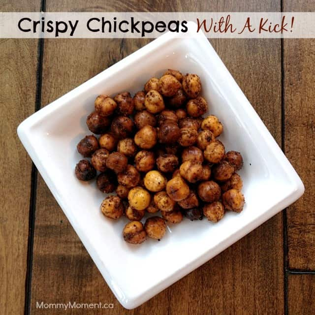 Crispy Chickpeas with a kick