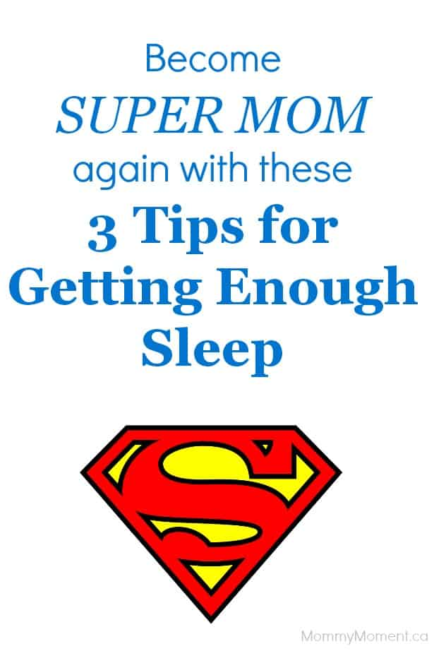 3 Tips for Getting Enough Sleep