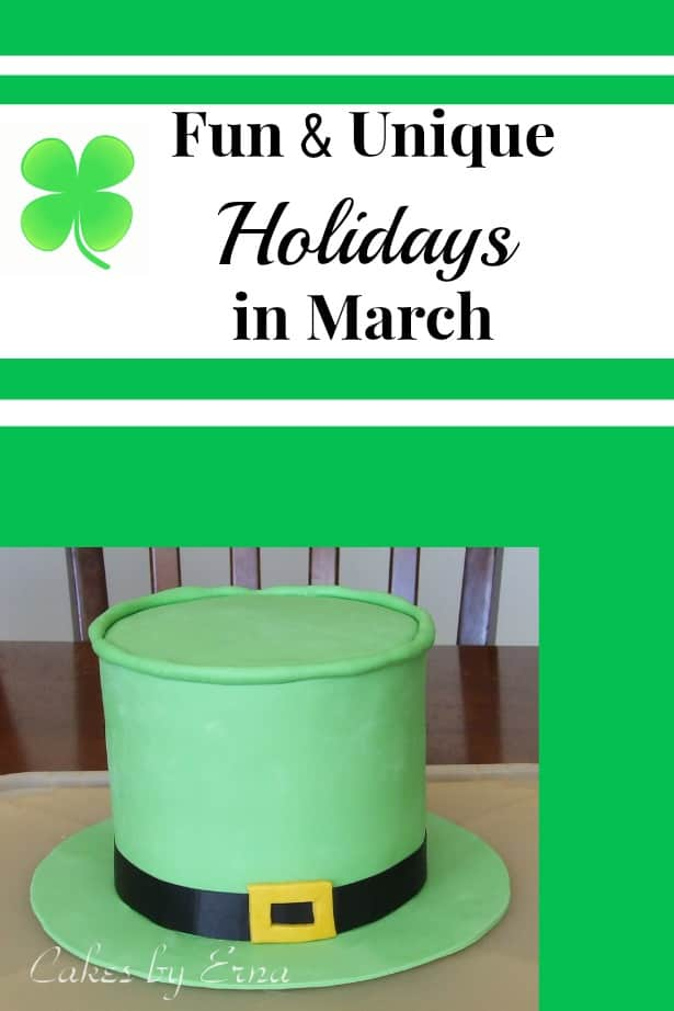 Fun and Unique Holidays in March