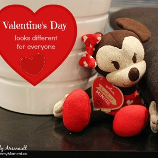 Valentine's Day Looks Different For Everyone {itty bittys™ Disney® Happy Hearts}