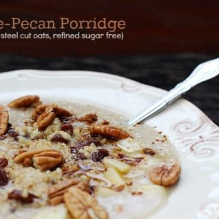 Maple-Pecan Porridge