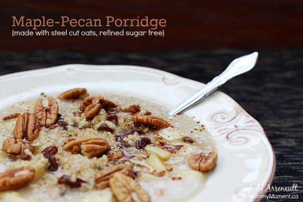 Maple Pecan Porridge