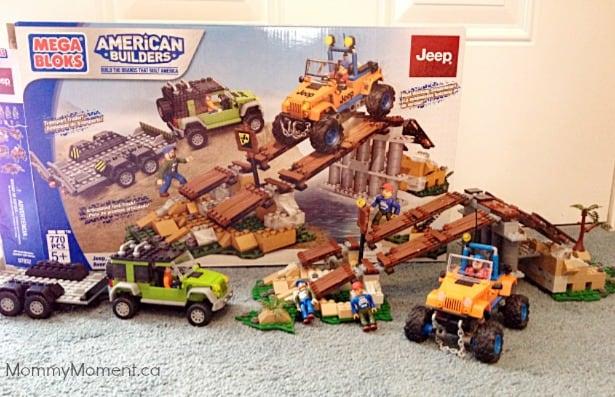 Mega Bloks American Builders Set