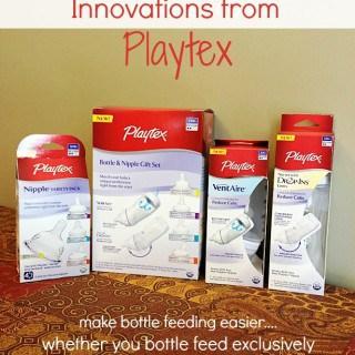 *NEW* Innovations  from Playtex! #MomTrust