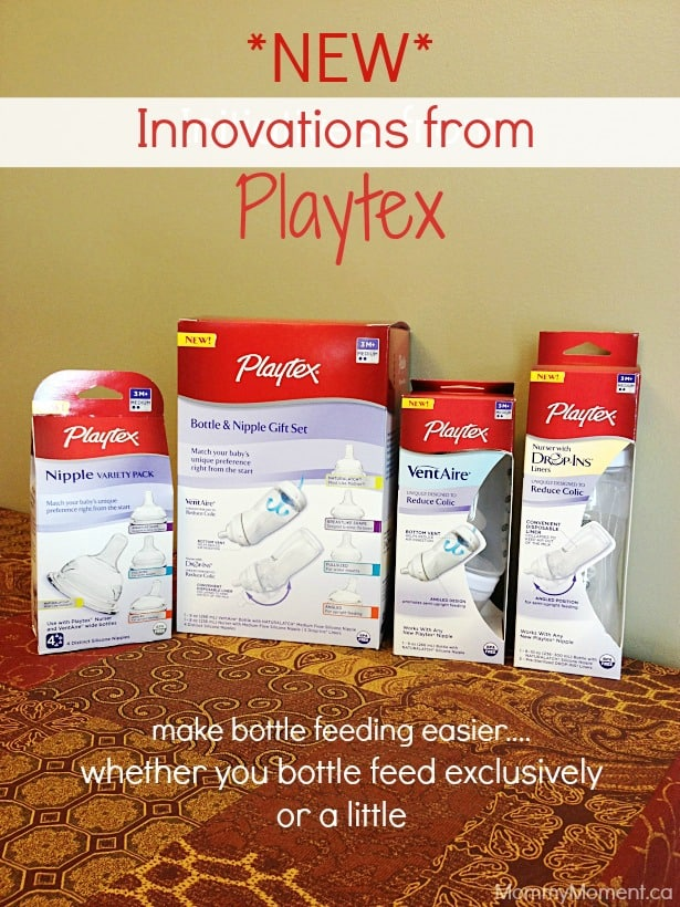 New innovations from playtex