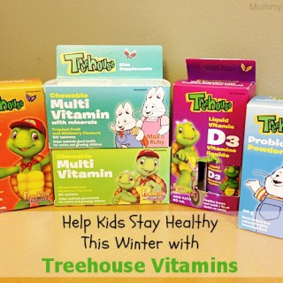 Help Kids Stay Healthy This Winter with Treehouse Vitamins
