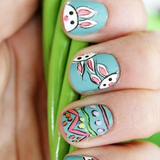 EASTER NAIL DESIGNS TUTORIAL