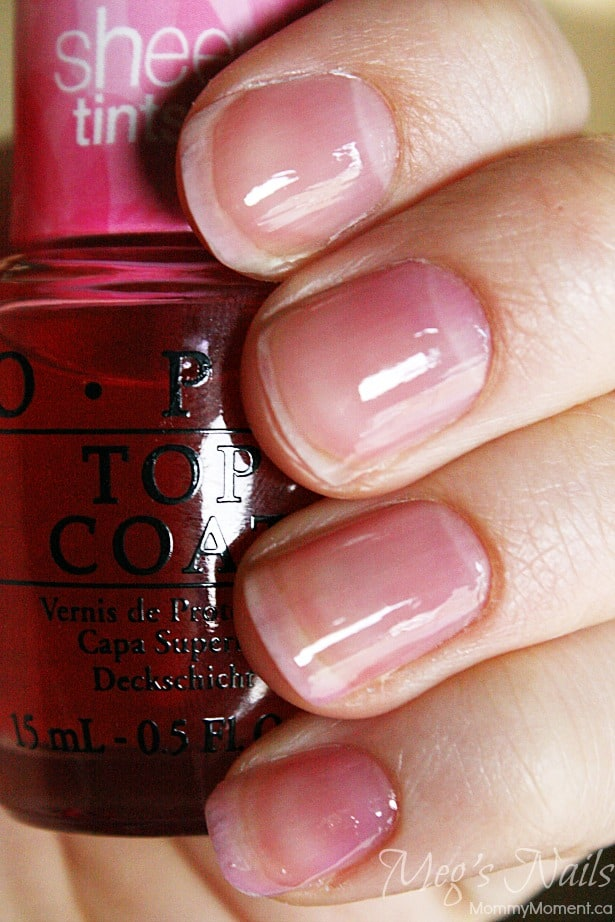 OPI Sheer Tints Pink