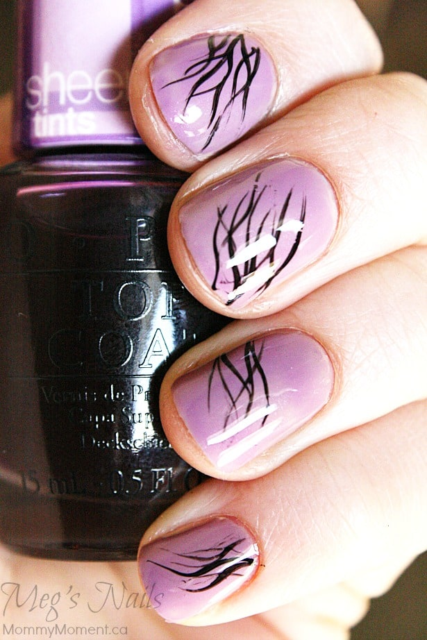 OPI nail art