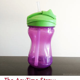 Playtex Knows Mealtime! AnyTime Straw Cup Review #MomTrust