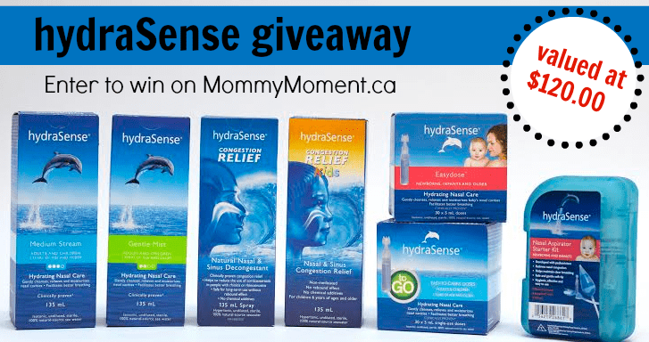 hydrasense giveaway