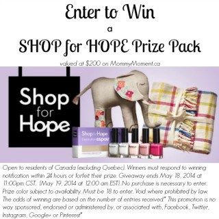 Support The Canadian Women's Foundation and Shop for Hope