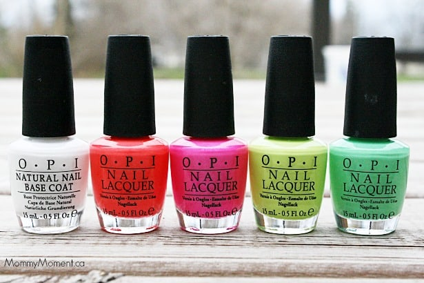 2014 OPI Neon Collection