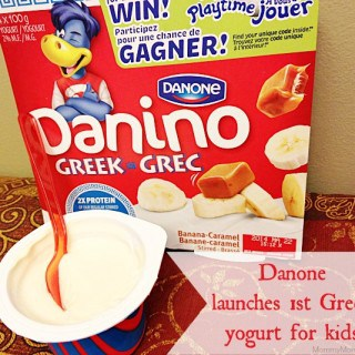 Danone Launches 1st Greek Yogurt for Kids – Danino Greek! #Giveaway {CAN}