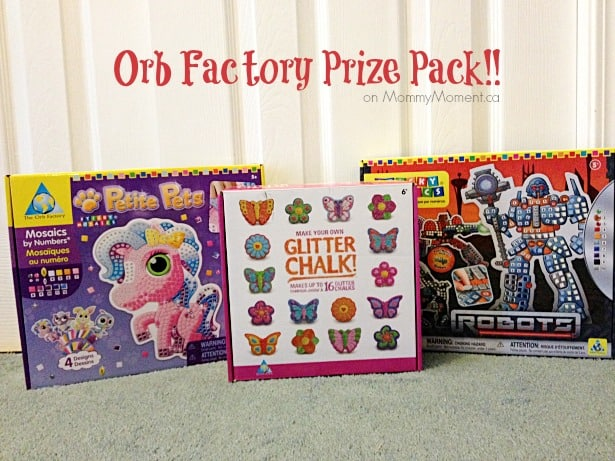Orb Factory Prize Pack