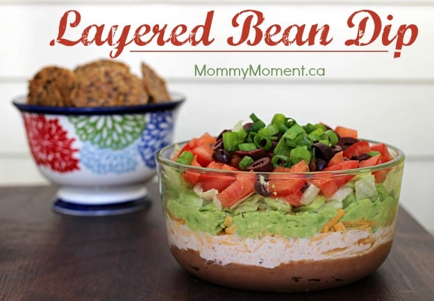Layered Bean Dip Mommy Moment