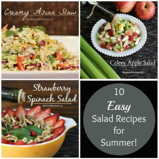 10 Easy Salad Recipes for Summer!