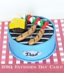 BBQ Fathers Day Cake