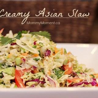 Creamy Asian Slaw