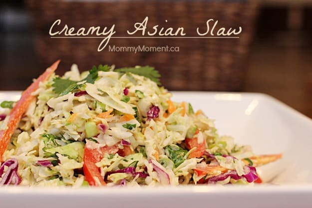 creamy asian slaw the best creamy cole slaw creamy rainbow asian slaw ...