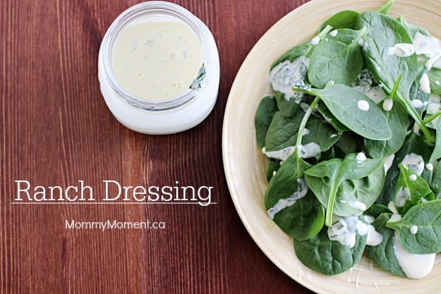 homemade ranch dressing recipe that tastes so delicious.