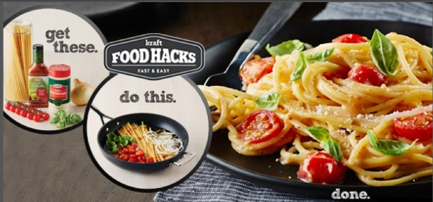 Kraft Food Hacks