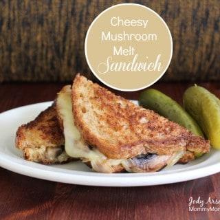 Cheesy Mushroom Melt Sandwich