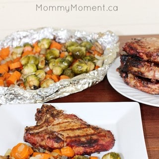 2 INGREDIENT GRILLED PORK CHOPS