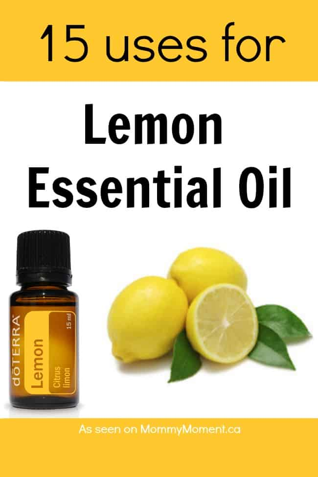 uses for lemon-essential-oil