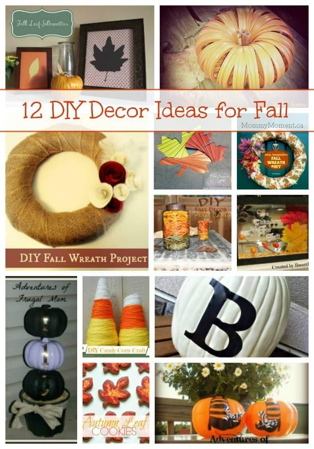 12 DIY Decor Ideas for Fall