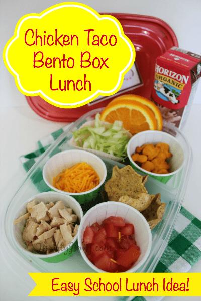 Chicken Taco Lunch