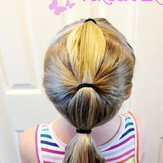 Easy Ponytails for Summer with Goody! #GoodyTips