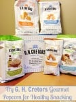 G H Cretors Gourmet Popcorn for Healthy Snacking