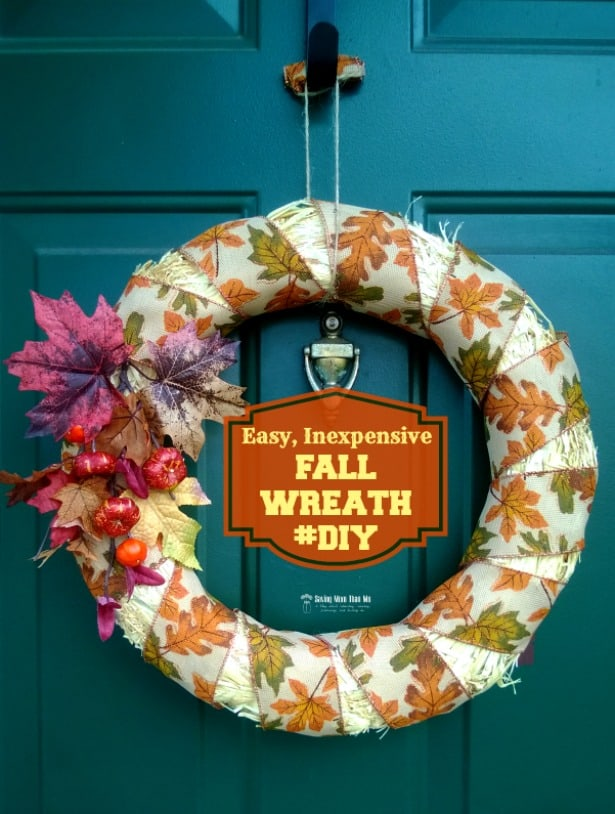 Inexpensive Fall Wreath