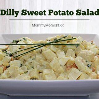 Dilly Sweet Potato Salad