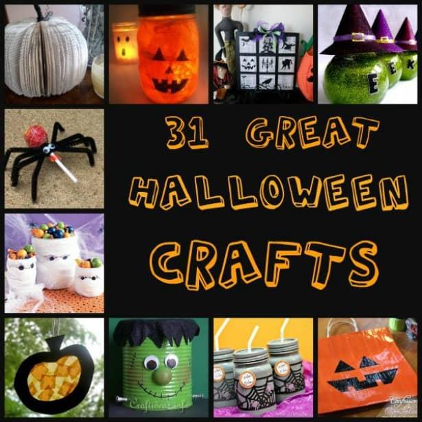 31 halloween crafts