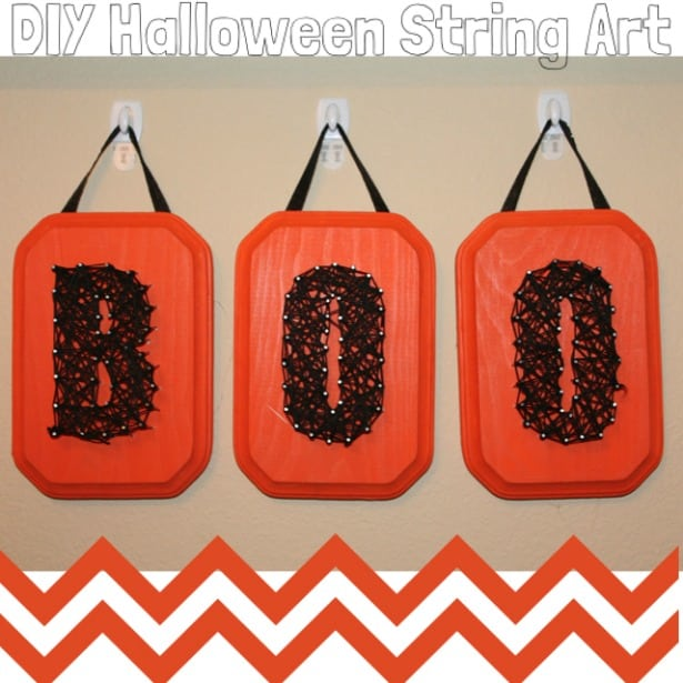BOO String Art