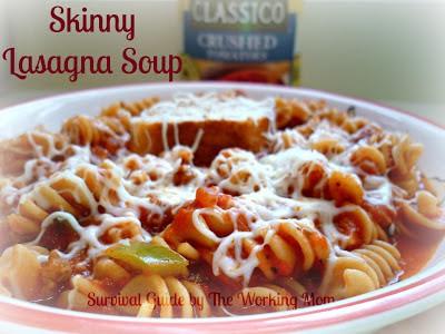 Crock-Pot Healthy Lasagna Soup