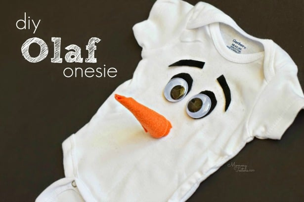 DIY FROZEN Olaf Costume