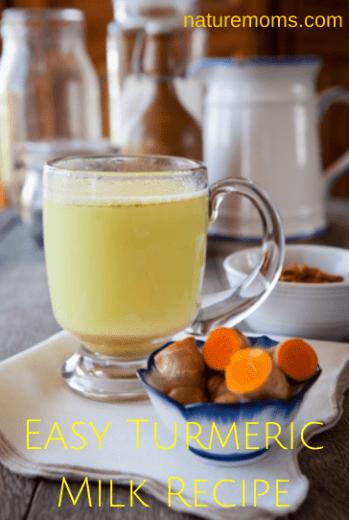 Easy Turmeric Milk Recipe