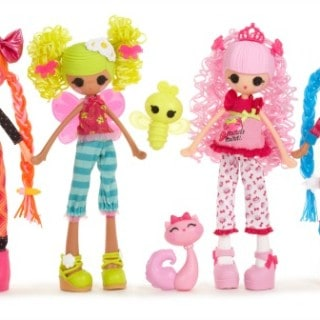 Lalaloopsy Girls Head to School