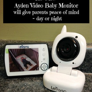 The NEW Ayden Video Baby Monitor from Levana will give parents peace of mind ~ day or night! #Giveaway