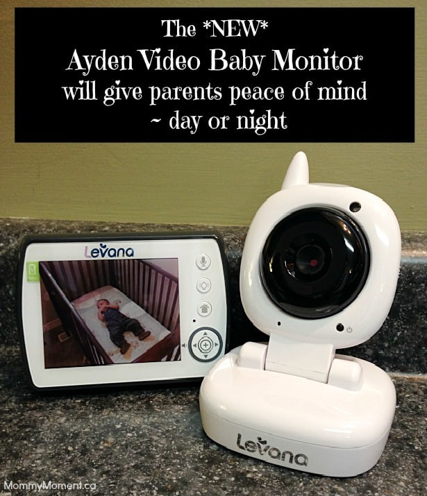 09ad2b7f37ee The Ayden Video Baby Monitor will give parents peace of mind