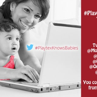 Join the @PlaytexInfant #PlaytexKnowsBabies Twitter Party Oct 1 at 9pm EST