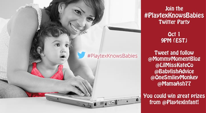 #PlaytexKnowsBabies Twitter Party