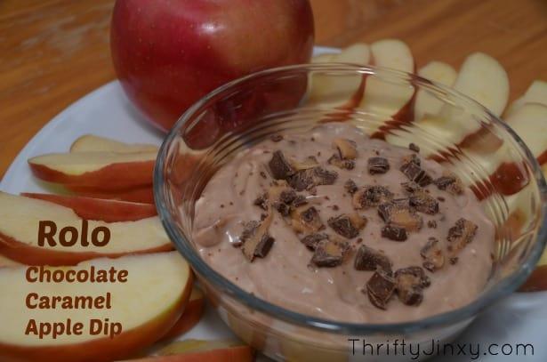 Rolo Chocolate Caramel Dip