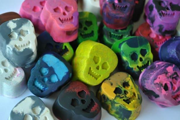 Skull Crayons