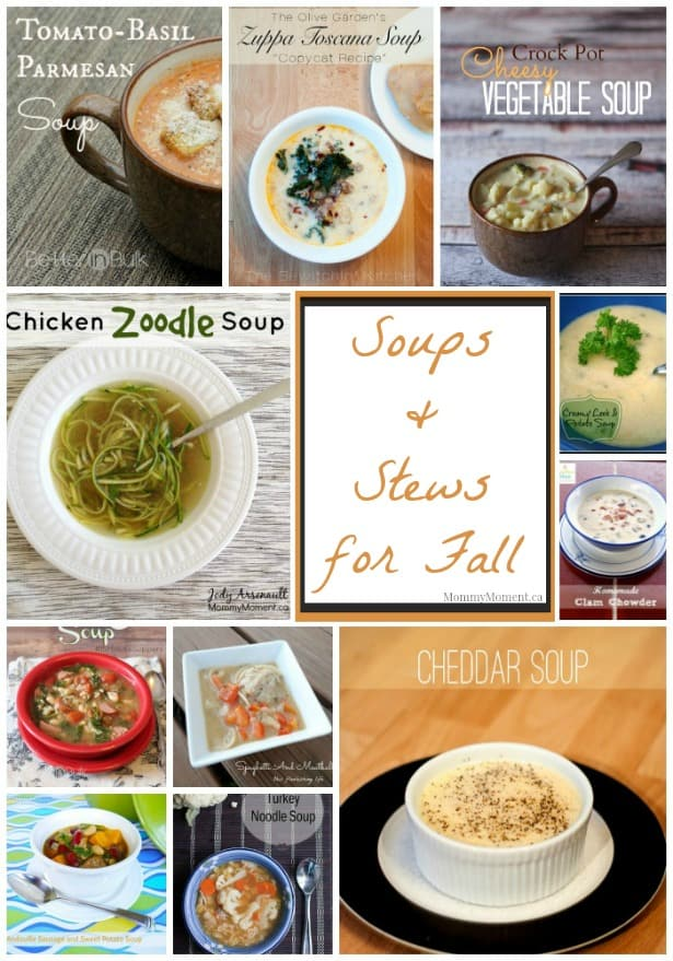 Soups and Stews for Fall