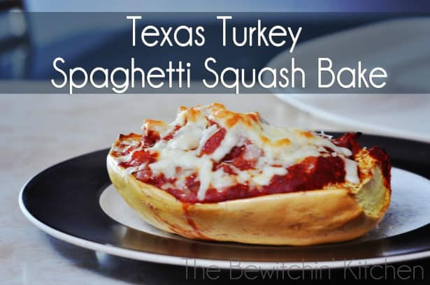 Texas Turkey Spaghetti Squash Bake